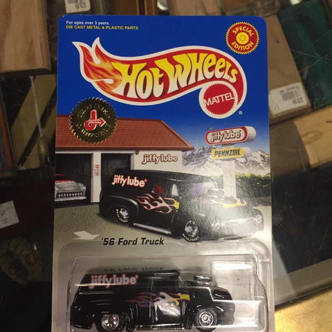 Hot Wheels JIFFY LUBE Special black '56 Ford