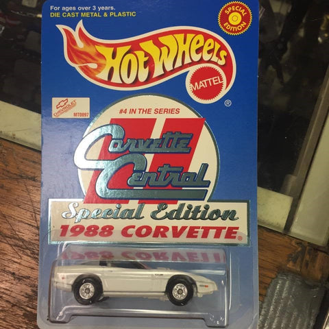 Hot Wheels 1988 Corvette Special Edition #20957 Mattel 1999