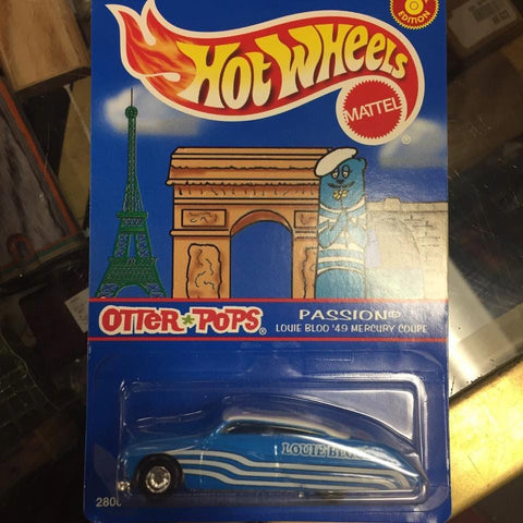Hot Wheels Otter Pops promo, Louie Bloo '49 Mercury Passion
