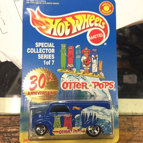 Hot Wheels 30th Anniversary OTTER POPS Dairy Delivery Vehicle