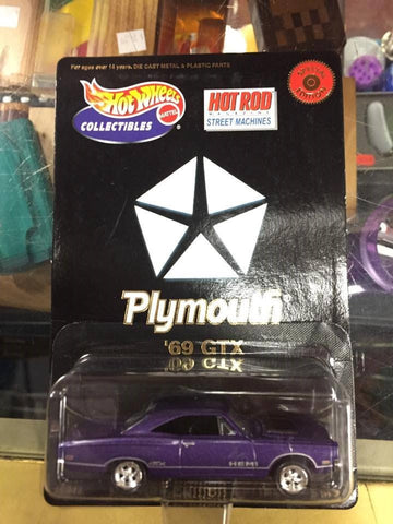 Hot Wheels '69 GTX Purple 1969 PLYMOUTH Limited Edition Series 1