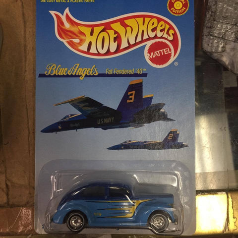 Hot wheels Matel Blue Angels Fat Fender '40 #2 in Blue Angels Series