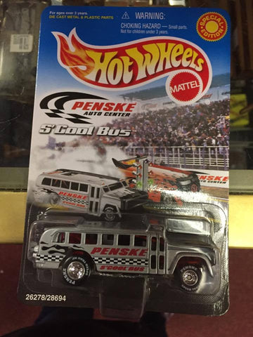 S' COOL BUS 2000 HOT WHEELS PENSKE SPECIAL EDITION