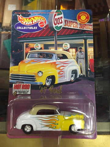 Hot Wheels - 47' Ford - 4 Decades of Hot Rods Series 1