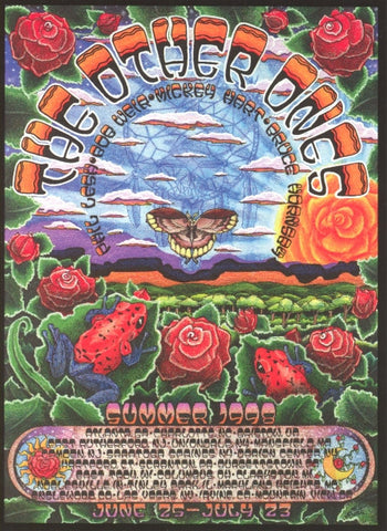 Michael Everett - 1998 - The Other Ones Summer Tour Poster