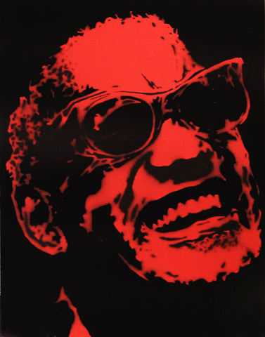 Alex Cole Jr. - Ray Charles - Red - 2011