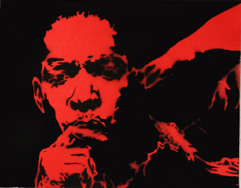 Alex Cole Jr. - John Coltrane - Red - 2011