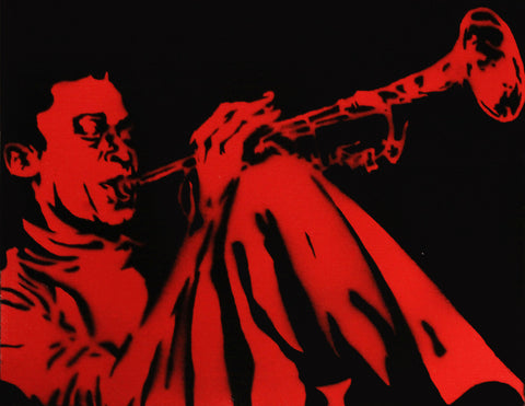 Alex Cole Jr. - Miles Davis - Red - 2011