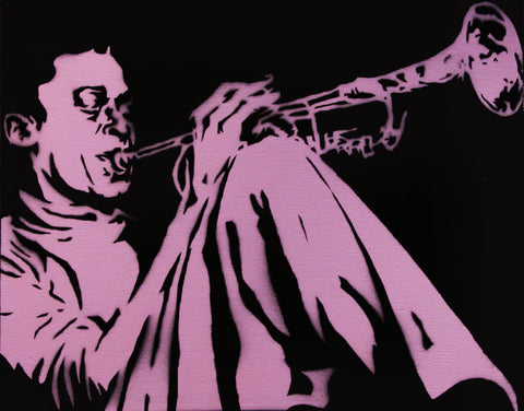 Alex Cole Jr. - Miles Davis - Light Pink - 2011