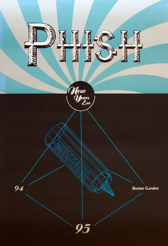 Phish 1994-1995 New Years Eve Boston