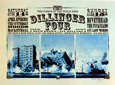 Burlesque of North America 2003 Dillinger Four
