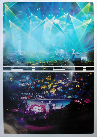 Jager DiPaola Kemp - 2000 - Phish Albany Concert Poster