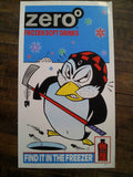 Frank Kozik - 2000 - Zero Frozen Soft Drinks Poster