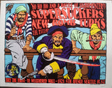 Kozik - 1994 - Supersuckers Concert Poster