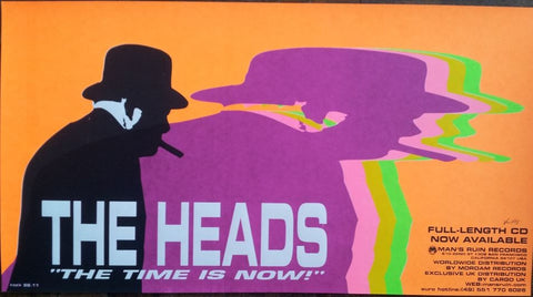 Kozik - 1998 - The Heads Concert Poster