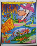 Frank Kozik - 1995 - Supernova Minneapolis Concert Poster