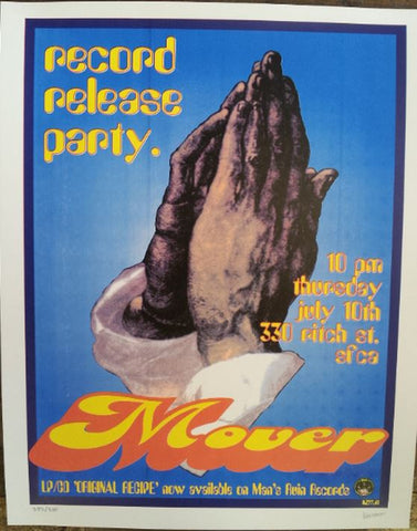 Frank Kozik - 1997 - Mover CD Release Party Poster