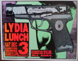 Frank Kozik - KZ9449 - Lydia Lunch Tucson '94 (Signed/Numbered)