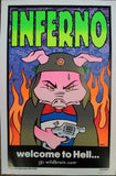 Frank Kozik - 2000 - Inferno / Welcome to Hell Poster