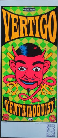 Frank Kozik - KZ92XX - Through the Looking Glass San Franc '92 (Signed/Numbered)