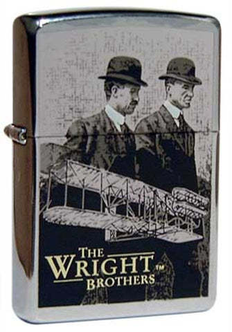 Zippo Lighter - Limited Edition - Wright Brothers Portrait