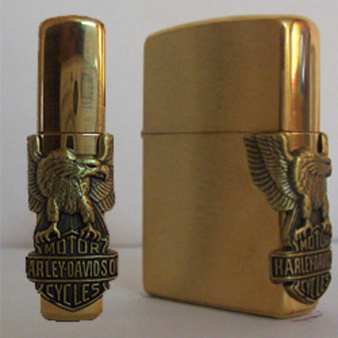 Zippo Lighter - Harley Davidson - Side Eagle