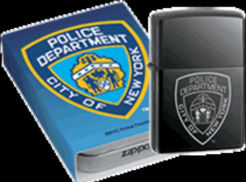 Zippo Lighter - Other - NYPD Badge
