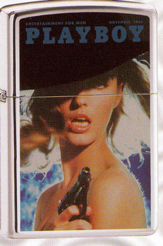 Zippo Lighter - Pinup - Playboy Cover November 1965