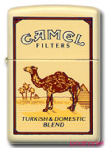Zippo Lighter - Tobacco - Camel Pack Graphic