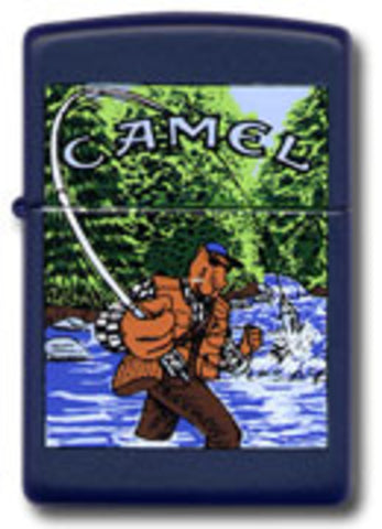 Zippo Lighter - Tobacco - Joe Camel Fishing