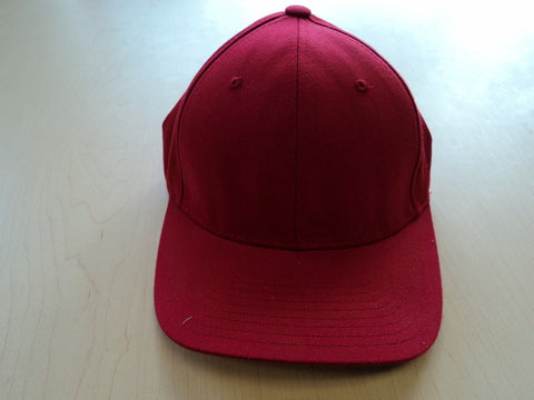 Solid Red Flexfit Hat