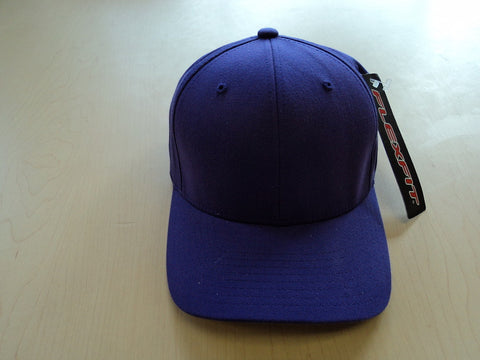 Solid Purple Flexfit Hat