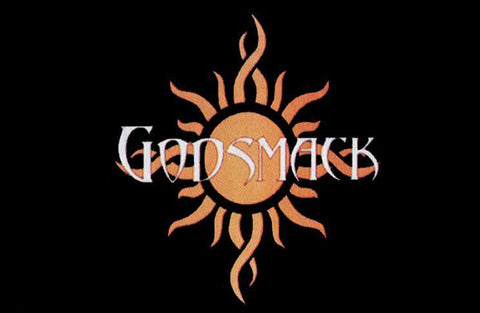 Felt Black Light Poster - 1999 - Godsmack