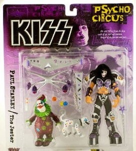 McFarlane - KISS Psycho Circus - Paul Stanley with the Jester