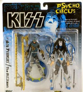 McFarlane - KISS Psycho Circus - Ace Frehley with Stiltman