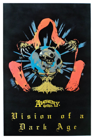 Felt Black light Poster - 1996 - Alchemy Vision of a Dark Age
