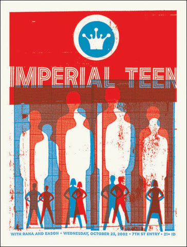 Aesthetic Apparatus - 2002 - Imperial Teen Concert Poster