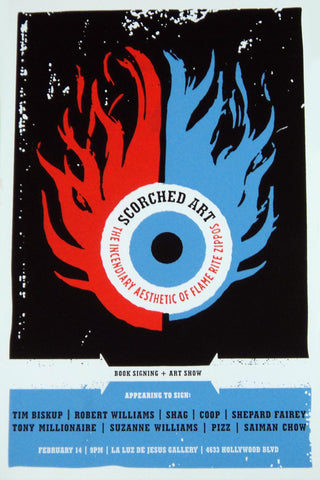 Aesthetic Apparatus - 2003 - Scorched Art Show Poster