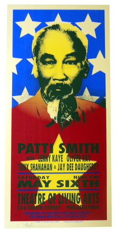Mark Arminski - 2000 - Patti Smith Concert Poster