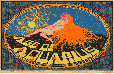 Black Light Poster - 1960 - Age of Aquarius