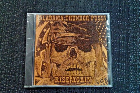 "Alabama Thunderpussy ""Rise Again"" 1998 CD Art By Kozik"