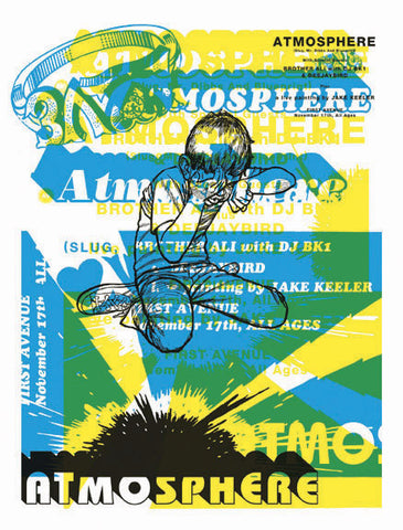 Aesthetic Apparatus - 2002 - Atmosphere Concert Poster