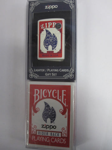 Zippo Lighter - Limited Edition - Bicycle Card Set