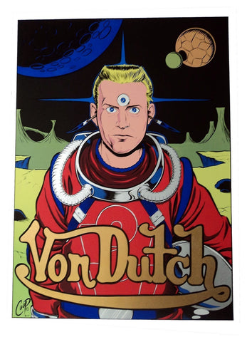 Coop - 1996 - Von Dutch Art Print
