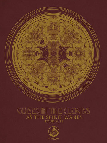 Iron Jaiden - 2011 - Codes in the Clouds Concert Poster