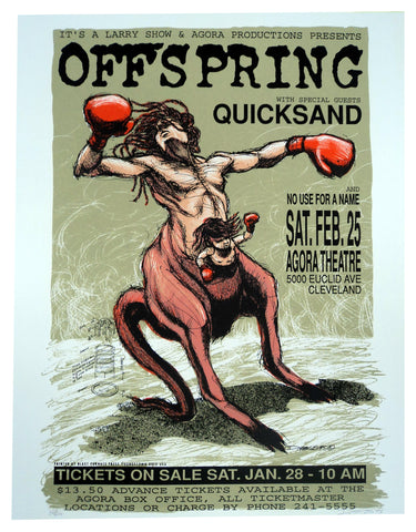 Derek Hess - 1995 - Offspring Poster