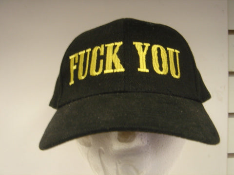 Fuck You Embroidered Hat