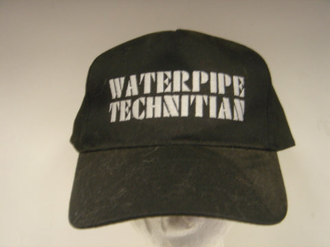 Waterpipe Technician Embroidered Hat