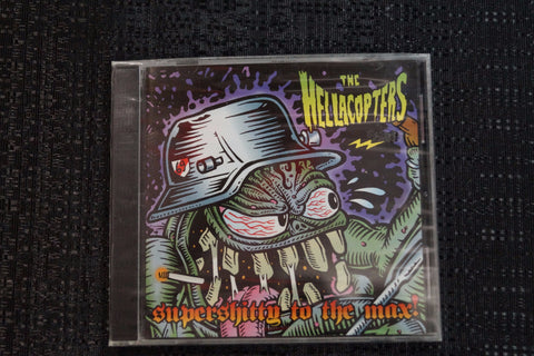 "The Hellacopters ""Supershitty to the Max!"" 1998 CD Art By Kozik"