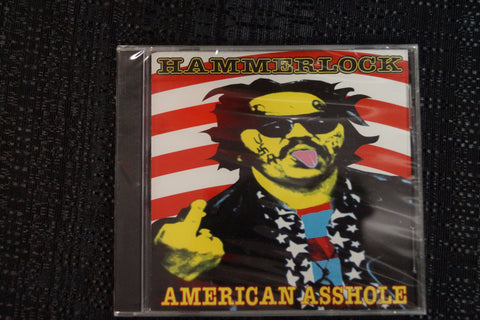 "Hammerlock ""American Asshole"" 1998 CD Art By Kozik"